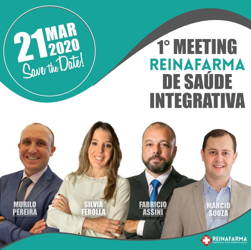 1º Meeting Reinafarma de Saúde Integrativa