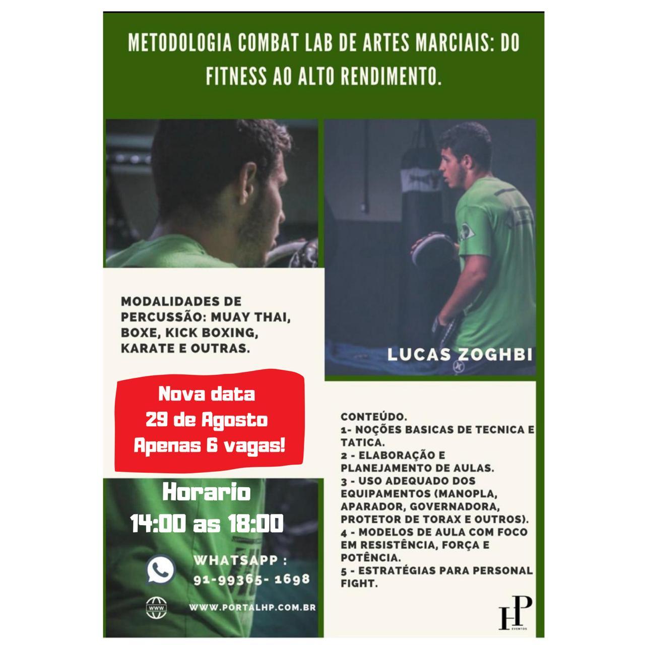 Metodologia Combat LAB de Artes Marciais: Do Fitness ao alto rendimento
